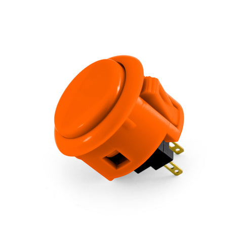 OBSF 30mm Snap-In Pushbutton (Orange)