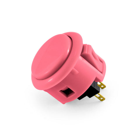 OBSF 30mm Snap-In Pushbutton (Pink)