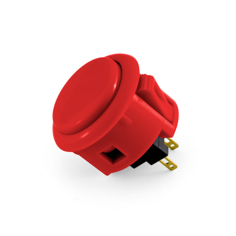 OBSF 30mm Snap-In Pushbutton (Red)