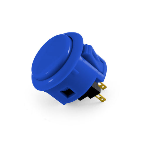 OBSF 30mm Snap-In Pushbutton (Royal Blue)