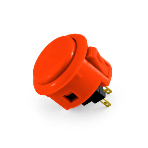 OBSF 30mm Snap-In Pushbutton (Vermillion)