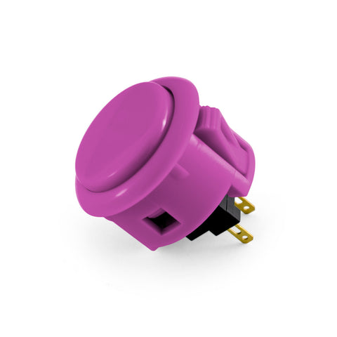 OBSF 30mm Snap-In Pushbutton (Violet)