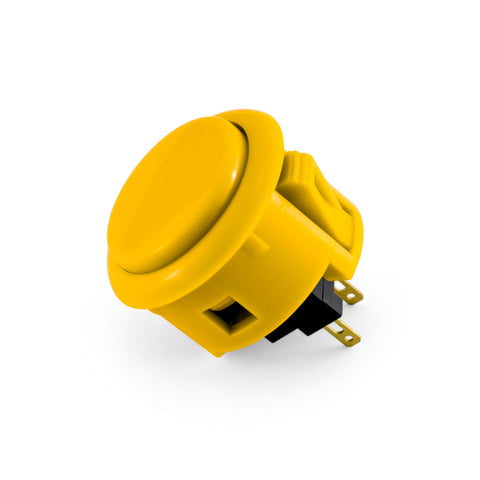 OBSF 30mm Snap-In Pushbutton (Yellow)