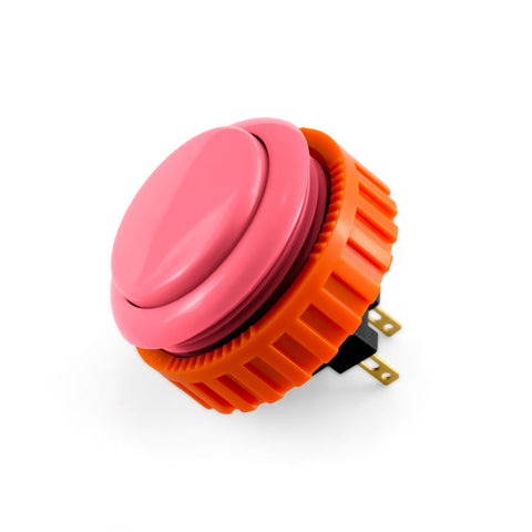 OBSN 30mm Screw-In Pushbutton (Pink)