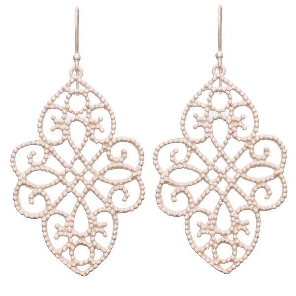 Gold plate Filigree Earrings