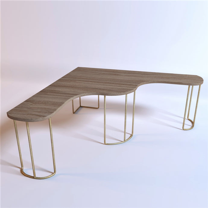 Eclectic Curves Coffee Table