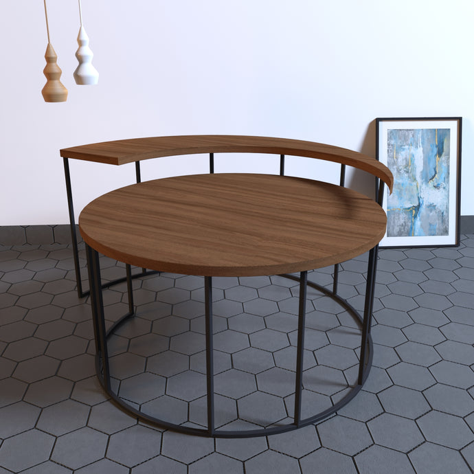 Spiral-it-up End Table