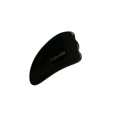 Black Obsidian Gua Sha Massage Tool