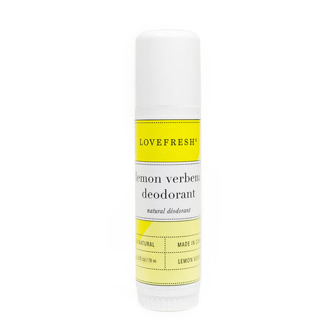 Lemon Travel Deodorant Stick