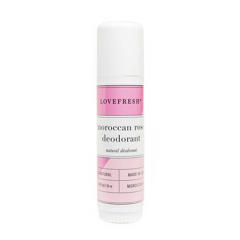 Lovefresh Moroccan Rose Travel Deodorant Stick