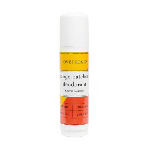 Lovefresh Orange Patchouli Travel Deodorant Stick
