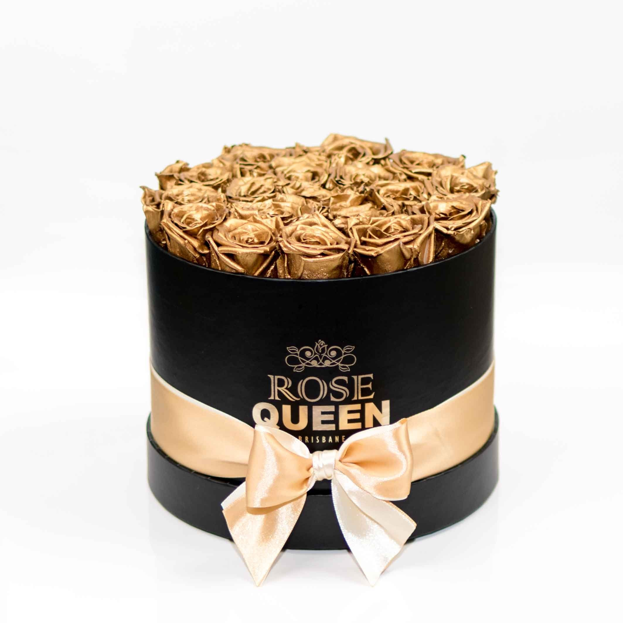 Black box - GOLD ETERNITY Roses