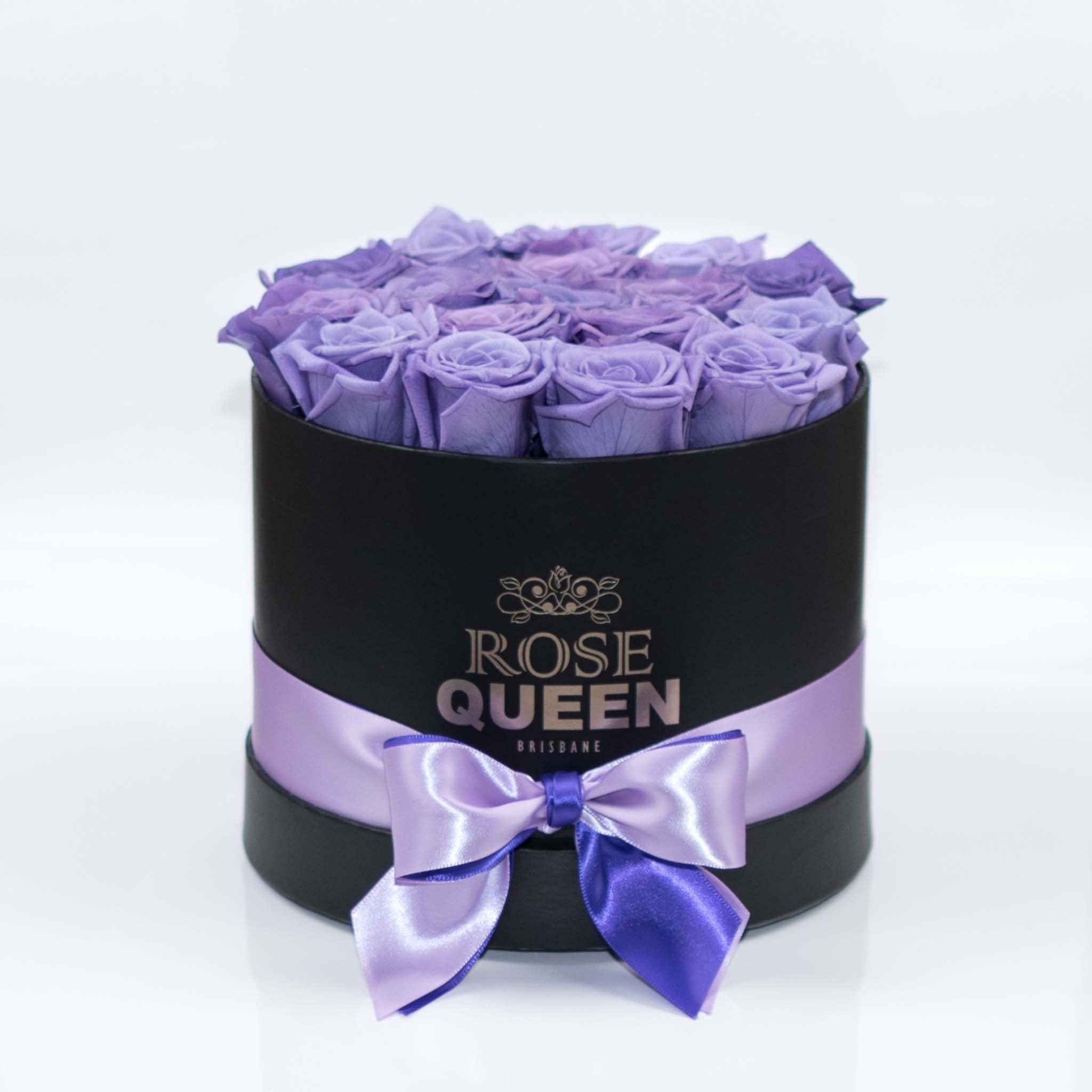 Black Box - Purple ETERNITY Roses