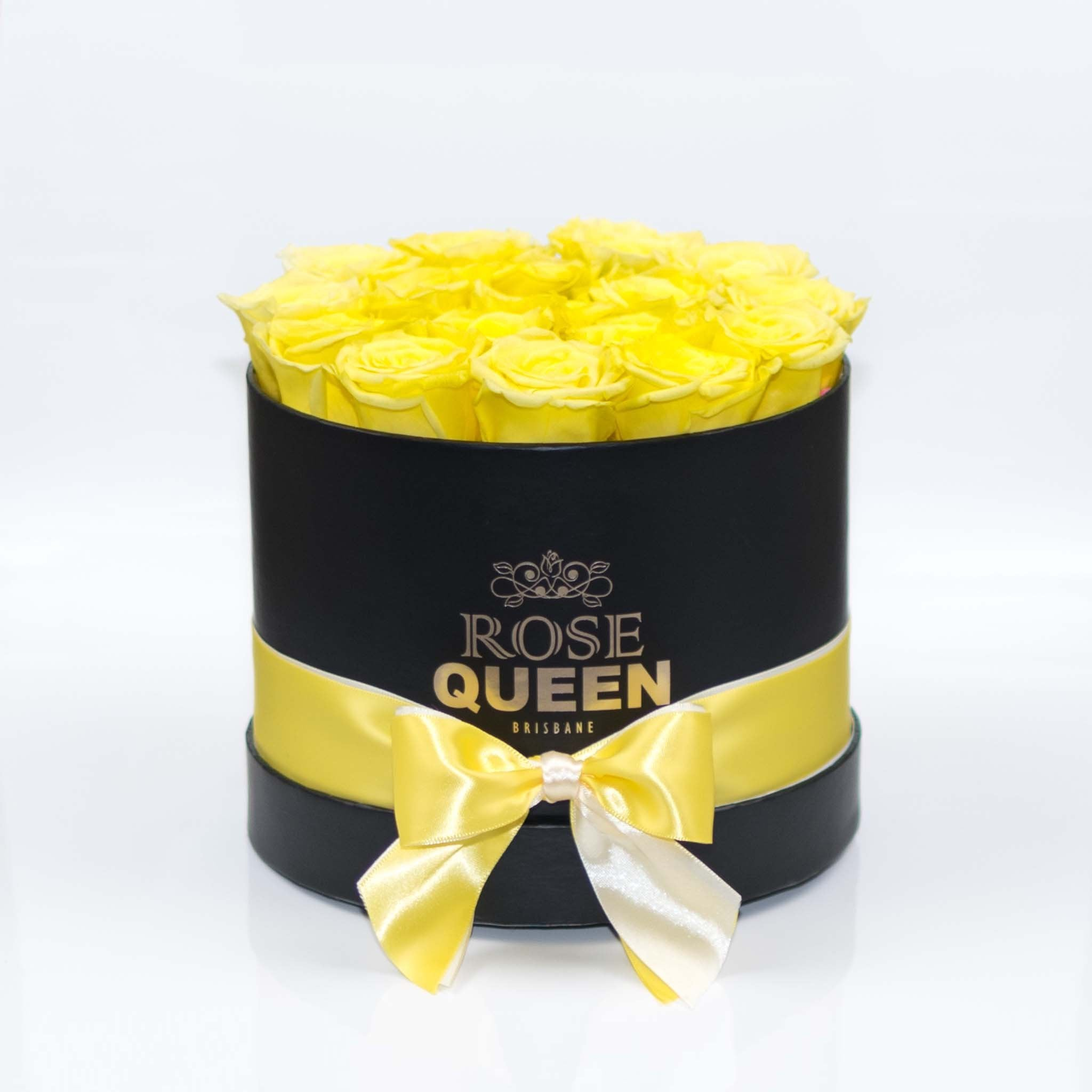 Black Box - Yellow ETERNITY Roses