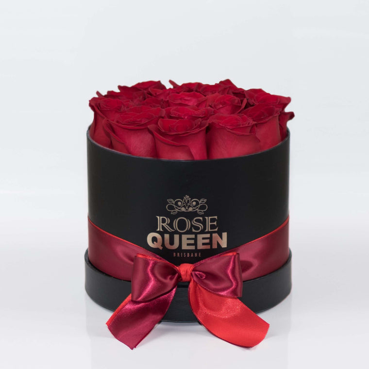 Black Box - Red FRESH CUT Roses