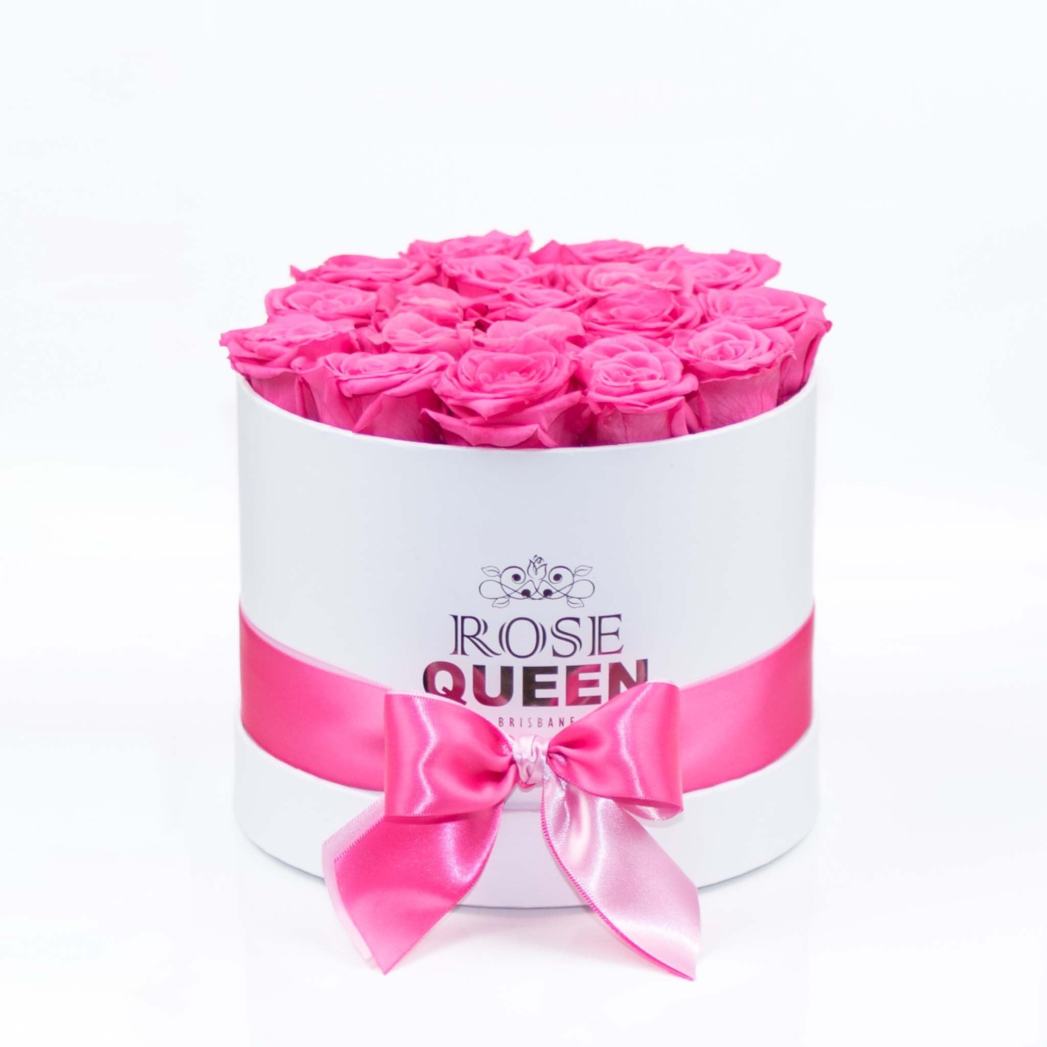 White Box - Pink ETERNITY Roses