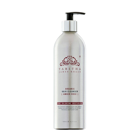 Organic Hair Cleanser Amber Rose 500 ml