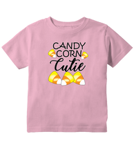 Candy Corn Cutie Toddler Halloween T-Shirt