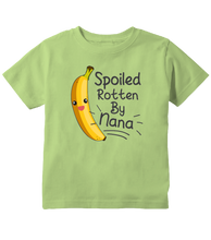"Spoiled By Grandma ""Spoiled Rotten By Nana"" Toddler T-Shirt"