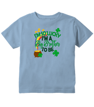 I'm So Lucky I'm a Big Brother To Be Toddler T-Shirt
