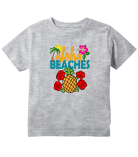Hawaiian Pineapple Aloha Beaches Toddler T-Shirt