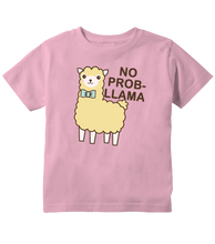 No Prob Llama Cute Llama Toddler T-Shirt