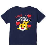 Baby Shark Doo Doo Doo Love Shark Cute Toddler T-Shirt