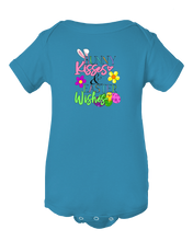 Bunny Kisses and Easter Wishes Easter Baby Onesie Bodysuit