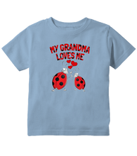 My Grandma Loves Me Ladybug Toddler T-Shirt