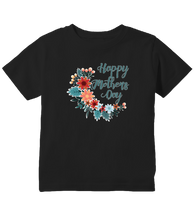 Happy Mother's Day Flower Wreath Toddler T-Shirt
