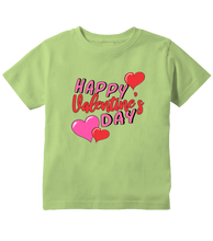 Happy Valentines Day Pink Hearts  Toddler T-Shirt