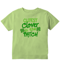 Cutest Clover in The Patch St Patricks Day Toddler T-Shirt