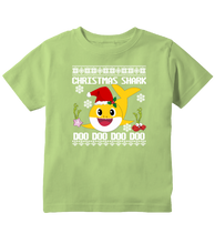 Baby Shark Doo Doo Doo, Christmas Shark Ugly Sweater Christmas Toddler T-Shirt