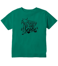 My Mommy Is My Bestie Cute Toddler T-Shirt