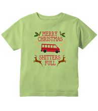 Merry Christmas Shitters Full Funny Christmas Toddler T-Shirt