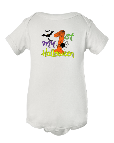 My First Halloween Baby Onesie Bodysuit