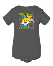Baby Shark Doo Doo Doo Cute Birthday Shark Baby Onesie Bodysuit