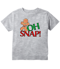 Oh Snap! Gingerbread Man Christmas Toddler T-Shirt