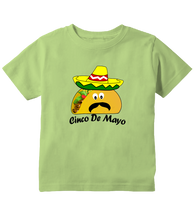 Cinco de Mayo Mexican Taco Sombrero Toddler T-Shirt