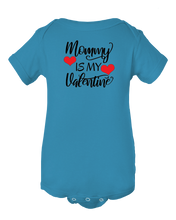 Mommy Is My Valentine Baby Onesie Bodysuit