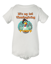 It's My First Thanksgiving Baby Onesie