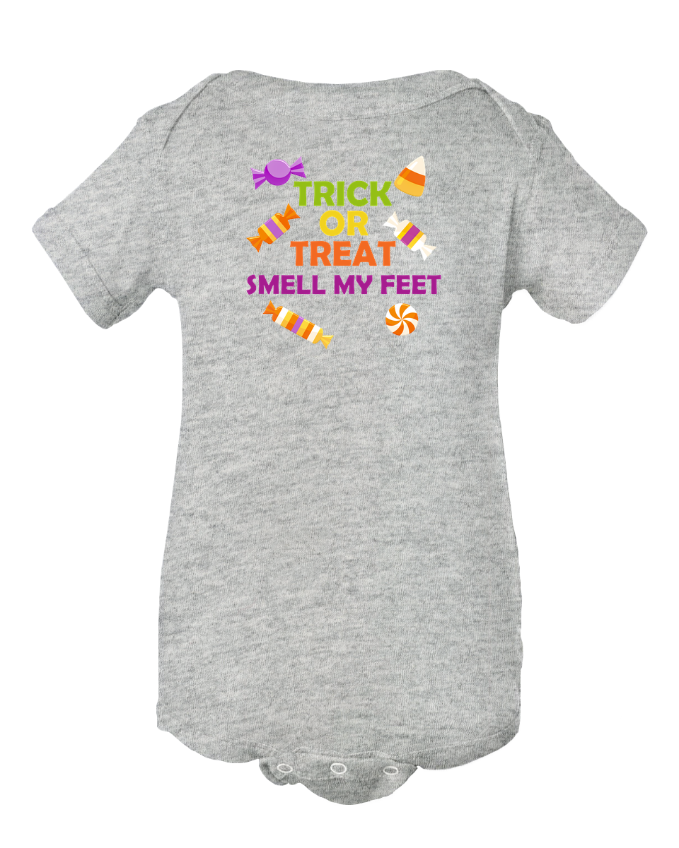 Trick Or Treat Halloween Baby Onesie Bodysuit