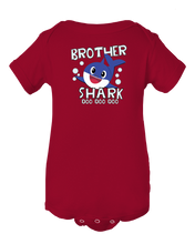 Brother Shark Doo Doo Doo Cute Baby Shark Onesie Bodysuit