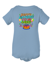 Happy Birthday To My Daddy Cute Boy/Girl Dad's Gift Baby Bodysuit
