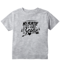 Unisex My Auntie Is My Bestie Toddler T-Shirt