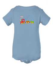 Little Brother Play Train Baby Onesie Bodysuit