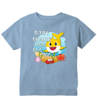 Baby Shark Doo Doo Doo Cute Colorful Toddler T-Shirt