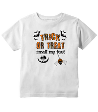 Trick or Treat Smell My Feet Halloween Toddler T-Shirt