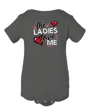 The Ladies Love Me  Funny Baby Onesie Bodysuit