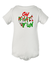 Oh What Fun Christmas Baby Onesie Bodysuit
